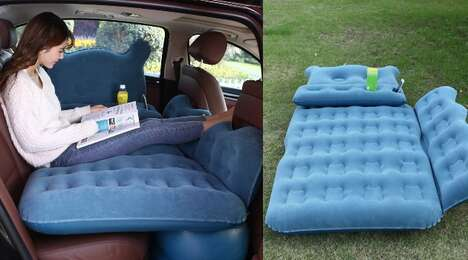 Automotive Backseat Mattresses