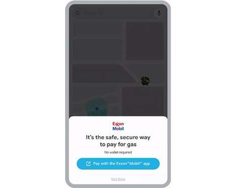 Contact-Free Gas Payments