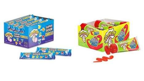 Super-Sour Candy Ranges