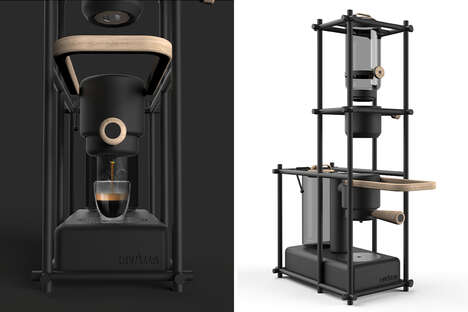 Artwork-Inspired Coffee Makers