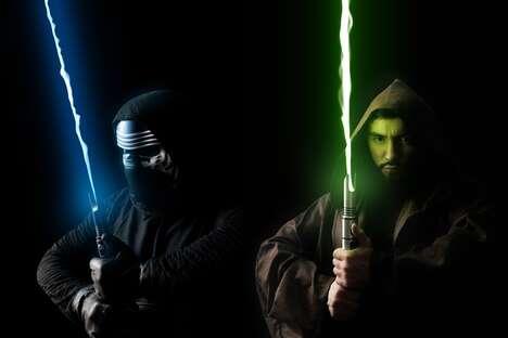 Sci-Fi-Inspired Swords