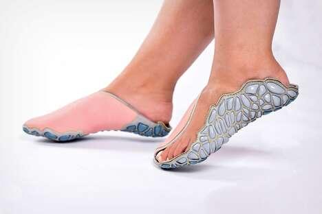 Wrap-Around 3D-Printed Footwear