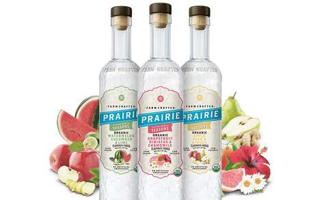 Seasonally Flavored Organic Vodkas