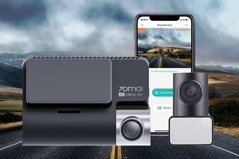 4K Dual-Vision Dash Cams