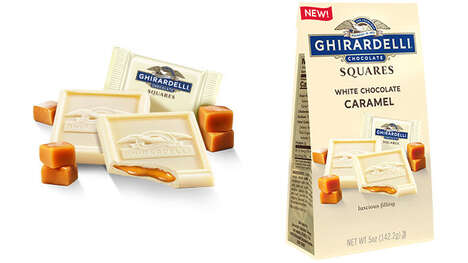 Caramel-Filled White Chocolates