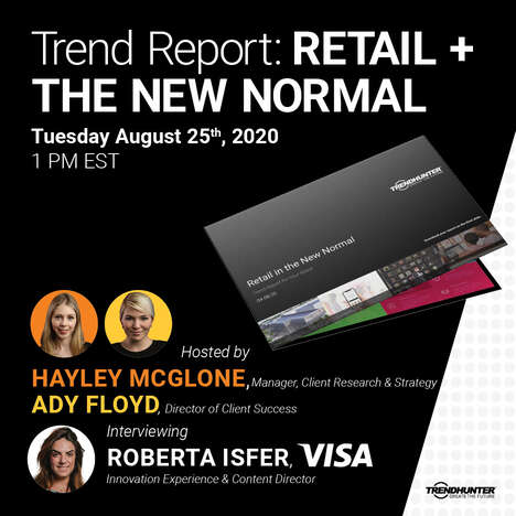 Free Trend Report Webinar - Free Trend Report Webinar: Retail + The New Normal
