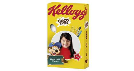 Personalized Cereal Box Promotions