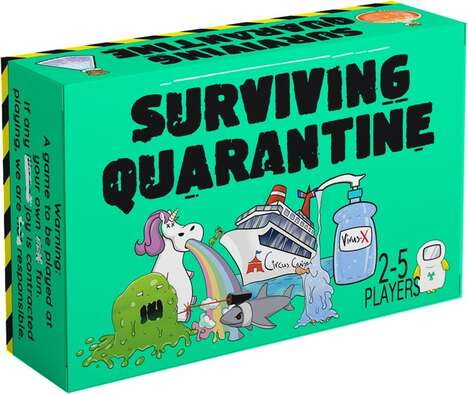 Quarantine-Themed Card Games