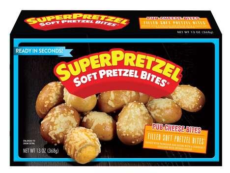 Filled Soft Pretzel Bites