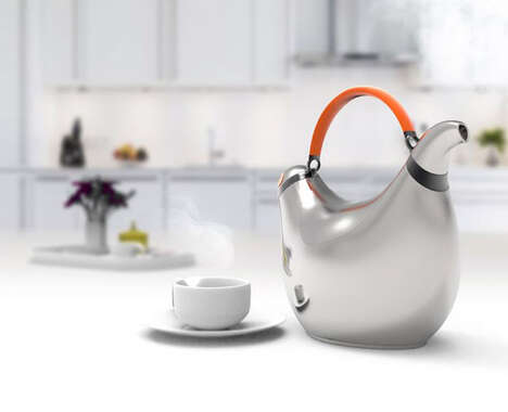 Avian-Inspired Kitchen Kettles