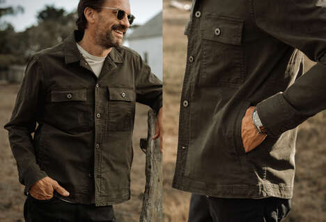 Meticulously-Crafted Shirt Jackets