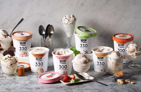 Light Dairy-Free Frozen Desserts