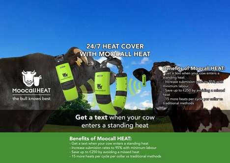 Cow Heat Trackers