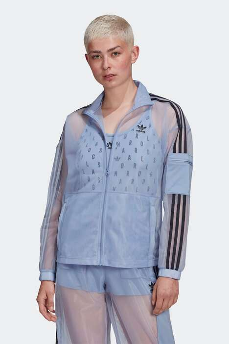 Mesh Pastel Tracksuits