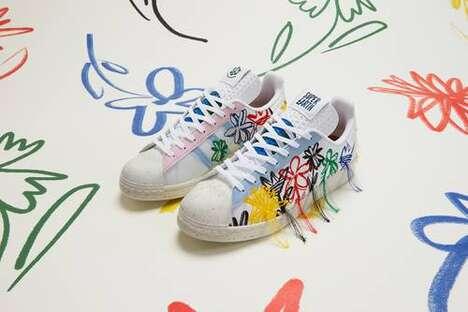 Boldly Threaded Vegan Sneakers