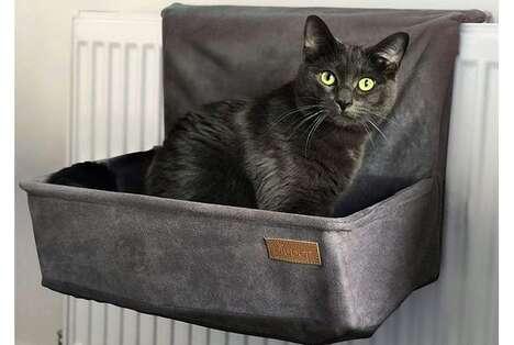 Warmth-Capturing Cat Beds