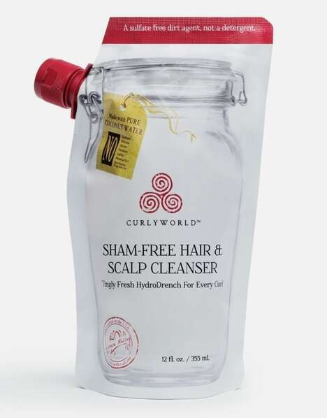 Curl-Friendly Sulfate-Free Cleansers