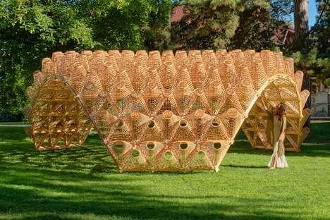 Geometric Wicker Architecture