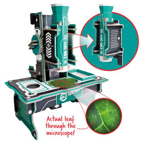 DIY Microscope Kits