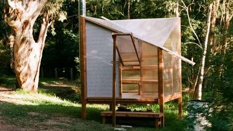 Flat-Pack Wooden Saunas