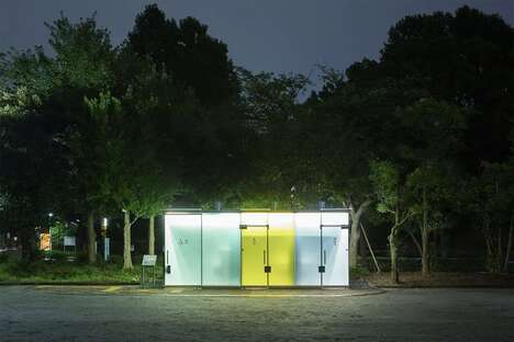 See-Through Public Restrooms