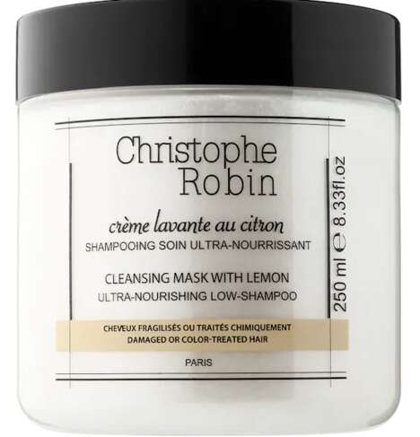 Low-Shampoo Cleansing Masks