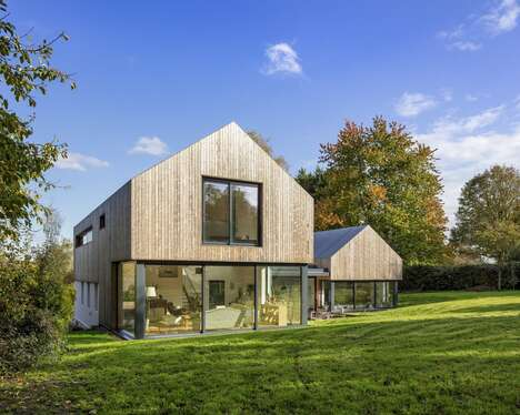 Contemporary Timber-Clad Homes