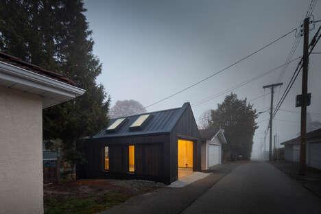 Cross-Laminated Timber Garages