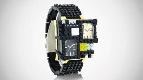 Dual-Timezone Building Block Watches