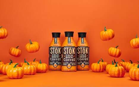 Pumpkin-Packed Cold Brews