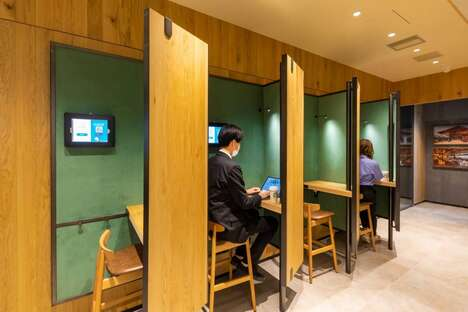 In-Cafe Co-Working Spaces
