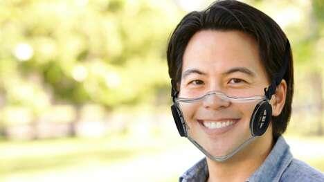 Transparent Filtration Face Masks