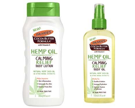 Relieving Hemp-Powered Cosmetics