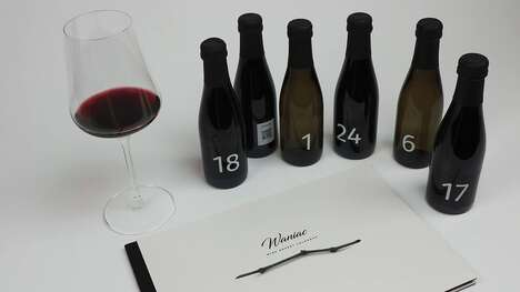 Blind Tasting Wine Calendars