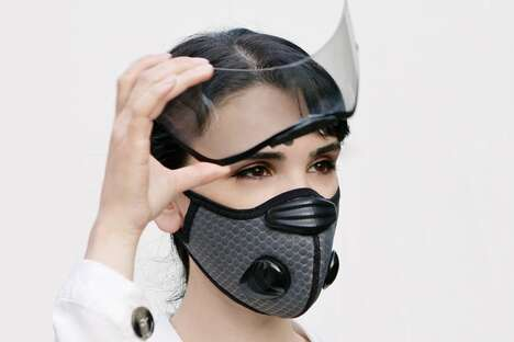 Detachable Eye Shield Masks