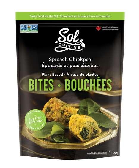 Plant-Based Chickpea Bites