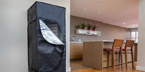 At-Home Sanitizing Closets