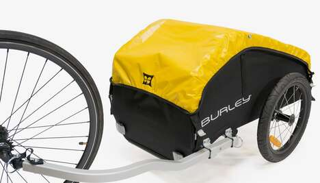 Cyclist Touring Trailers