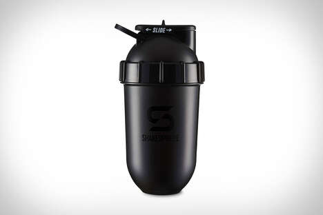 Capsule-Shaped Supplement Shakers