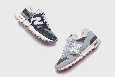 Elegant Contemporary Suede Sneakers
