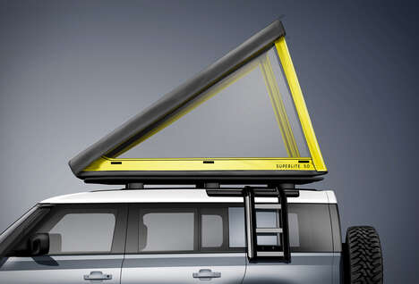Accessible Vehicle Roof Tents
