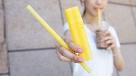 Bio-Based Plastic Straws