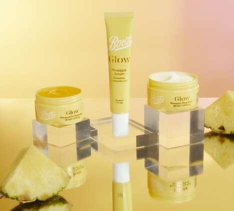 Pineapple Skincare Trios
