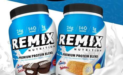 Snack Cake Protein Powders