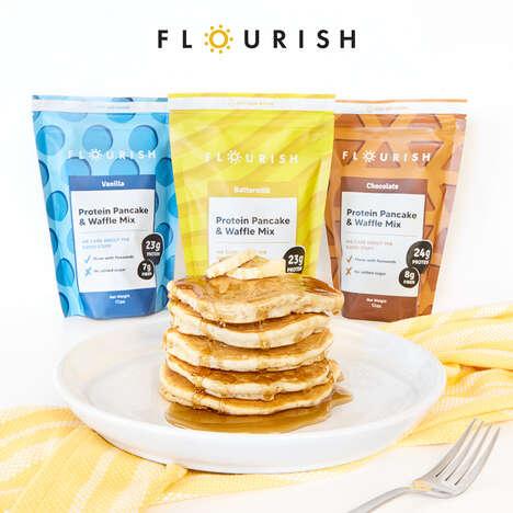 Protein-Rich Pancake Mixes