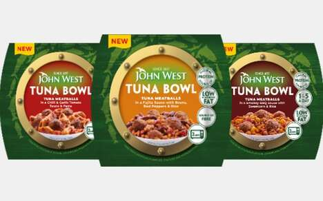 Heat-and-Eat Tuna Meatball Meals