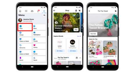 Shoppable Social Media Tabs