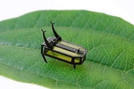 Methanol-Powered Micro Robots
