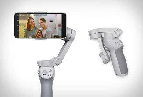Collapsible Smartphone Gimbals