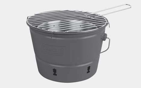 Bucket-Shaped BBQs
